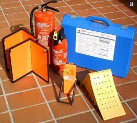 Fahrzeug-Set von 3,5 to bis 7,5 to / Warntafeln magnetisch