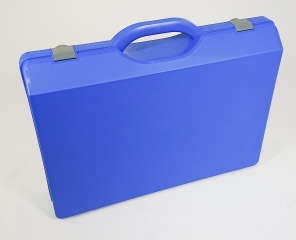 Aufbewahrungskoffer BLAU/GRAU