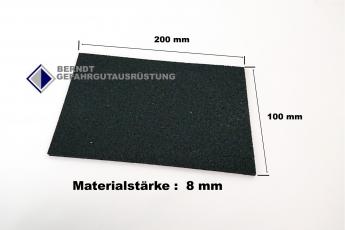 Antirutschmatte Pad  10 x 20 cm / 8mm