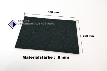Antirutschmatte Pad  30 x 20 cm / 8mm