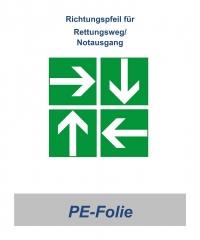 ASR Pfeil-Schild, 148 x 148 mm