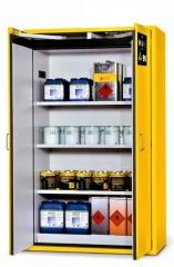 Gefahrstoff-Lagerschrank 120x200 gelb