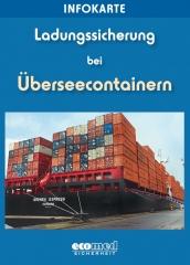 """Infokarte """"Ladungssicherung Überseecontainer"""""""