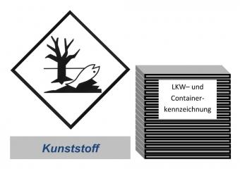 Kennzeichnung 300x300 Kunststoff - Umweltgefährdend