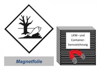 Kennzeichnung 250x250 magnetisch - Umweltgefährdend