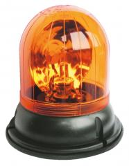 24 Volt-Rundum-Kennleuchte (gelb) Festmontage