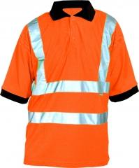 Warn-Poloshirt  orange